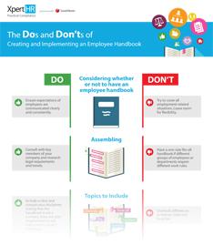 Download Employee Handbook Infographic