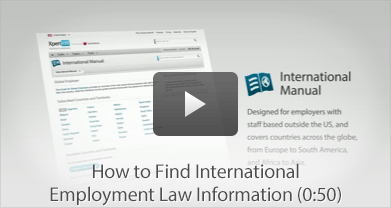 How to Find International Employment Law Information