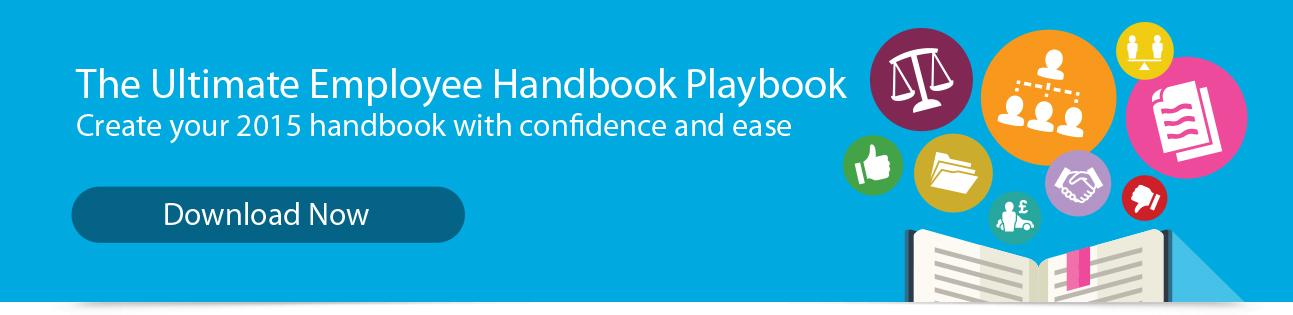 2015 Employee Handbook Playbook