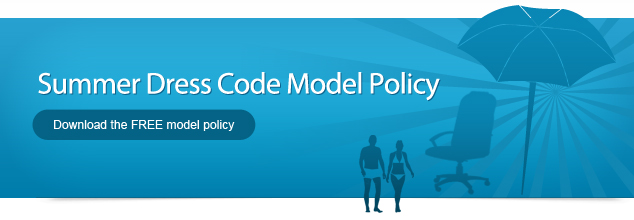 Summer Dress Code Model Policy - Download the FREE model policy