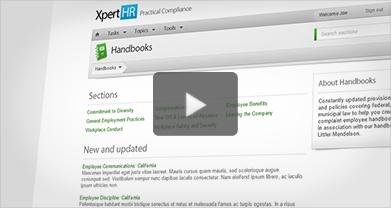 XpertHR Employee Handbooks