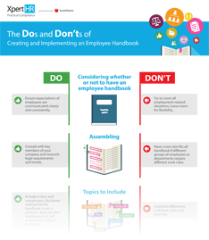Download Employee Handbook Infographic
