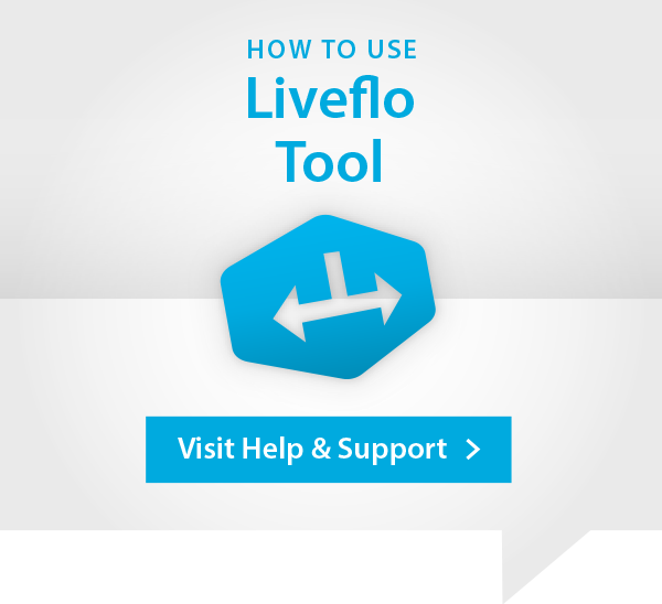 Liveflo Help and Support Advert