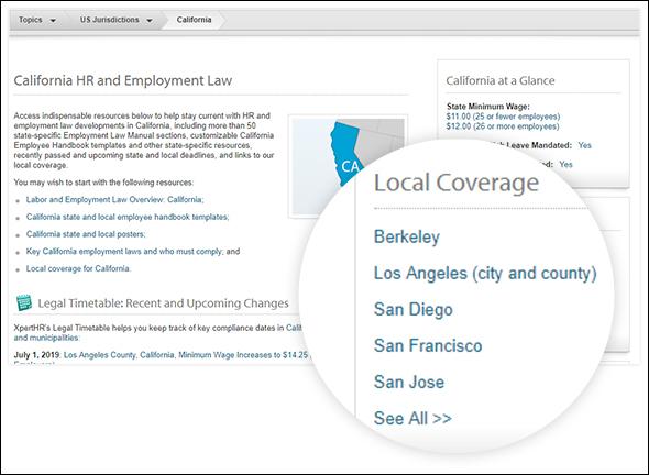 local coverage box screenshot