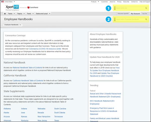 Site Search Tips Screenshot 1