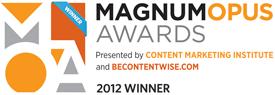 magnum opus awards logo